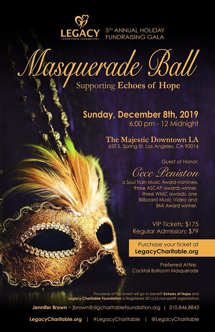 Legacy Charitable Foundation 5th Annual Fundraising Gala image