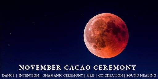 November Cacao Ceremony, Brisbane
