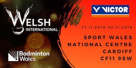 VICTOR Welsh International Badminton Championships 2019 tickets