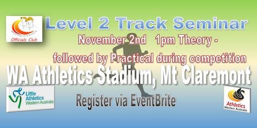 Level 2 Track Seminar