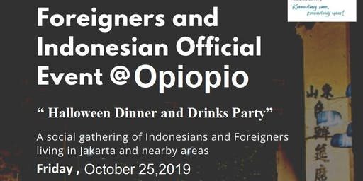 "FIC Jakarta  "" Halloween Dinner and Drinks Party"""