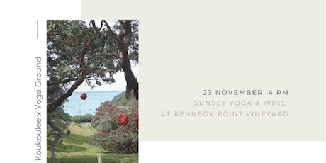 Koukoulee x Yoga Ground at Kennedy Point tickets