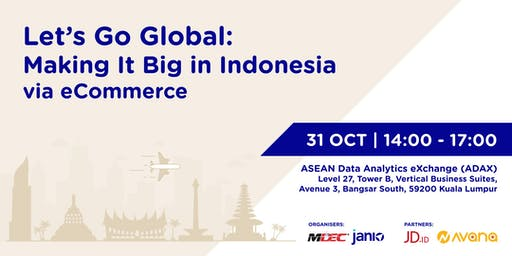 Let's Go Global - Making It Big in Indonesia via eCommerce