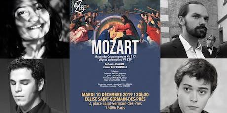 MOZART // Eglise Saint-Germain-des-Prés // Orchestre Via Luce billets