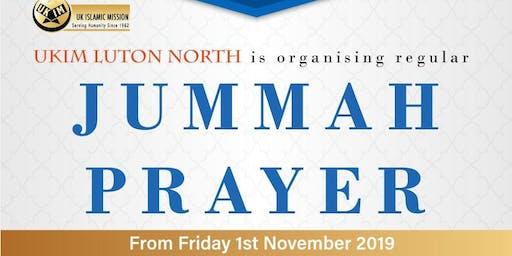 Friday Prayer @ Bushmead Luton, UK