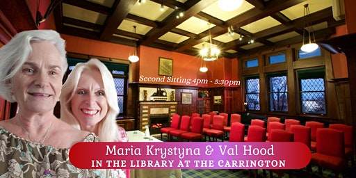 Second Sitting in The Library with Spirit at The Carrington Hotel, Katoomba