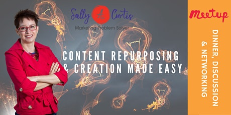 Meetup Content Repurposing & Creation Made Easy tickets