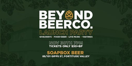 Beyond Beer Co. Launch