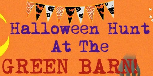 Children's Halloween Hunt At The Green Barn
