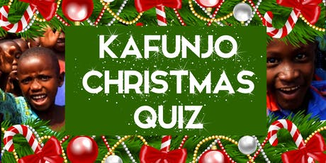 THE KAFUNJO CHRISTMAS QUIZ tickets