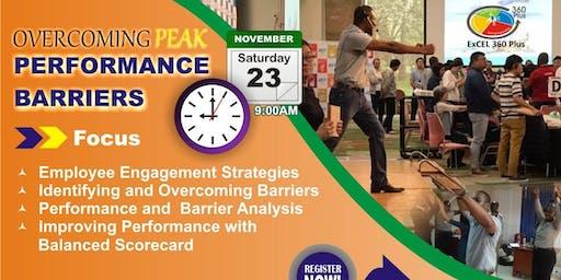 OVERCOMING PEAK PERFORMANCE BARRIERS - LAGOS (Training Fee: N40,000)