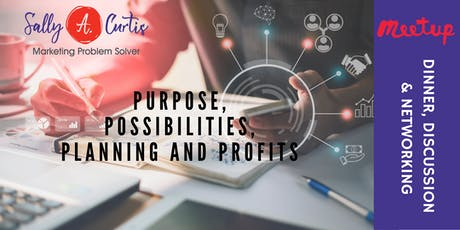 Purpose, Possibilities, Planning and Profits tickets
