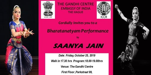 Bharatanatyam Performance by Saanya Jain