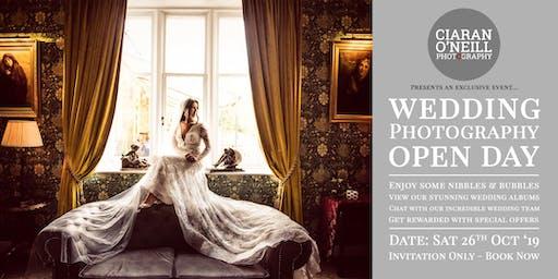 Wedding Photography Studio Open Day