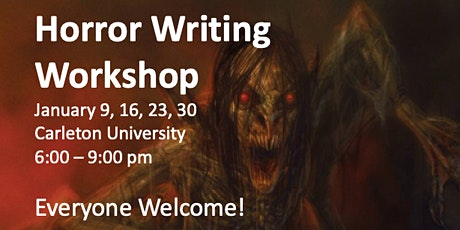 Horror Writing Workshop tickets