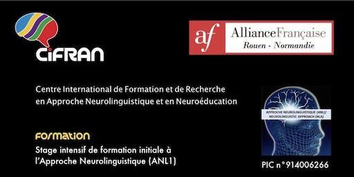 ANL1- Rouen - Stage de formation initiale à l'Approche Neurolinguistique