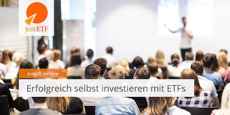 justETF Infoabend Frankfurt Tickets