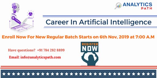 Sign Up For New Regular Batch On AI Training From 6th Nov @ 7 am