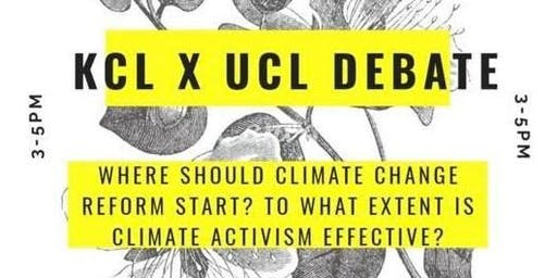 KCL x UCL Climate Change Debate