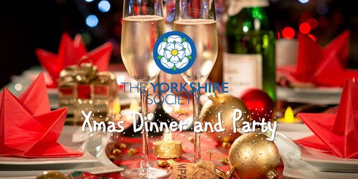 The Yorkshire Society Christmas Party and Dinner 2019.