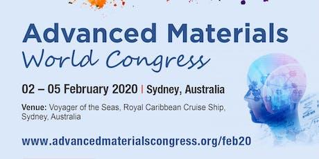 Advanced Materials World Congress tickets