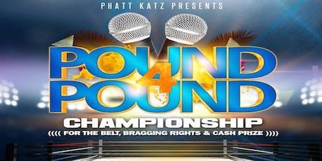 JACKSONVILLE, FL- Pound 4 Pound Championship tickets