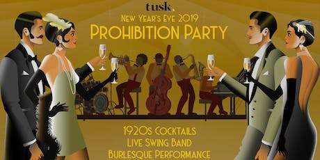 NYE Prohibition Party 2019 tickets