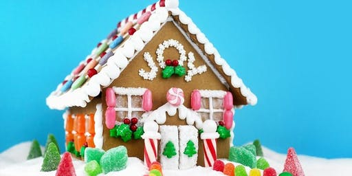 Mommy & Me Gingerbread House Workshop
