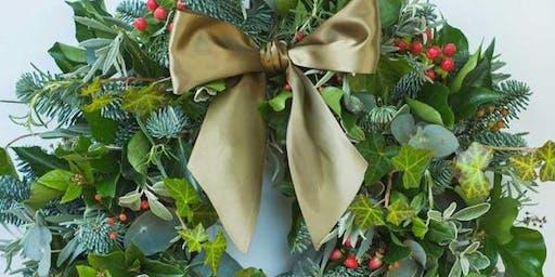 Little Christmas Wreath Workshop
