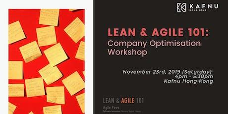 Lean & Agile 101: Company Optimisation Workshop tickets