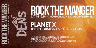 Charity Gig -Rock The Manger