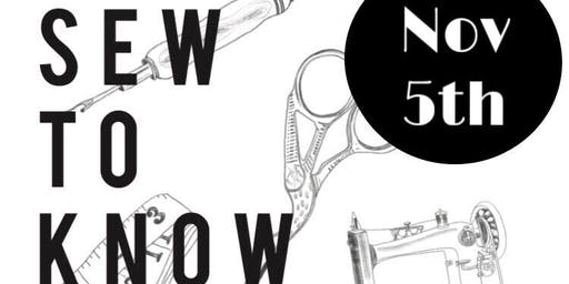 N9A Studio - Sew To Know 101