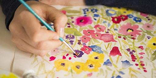 Beginner Floral Watercolour Class