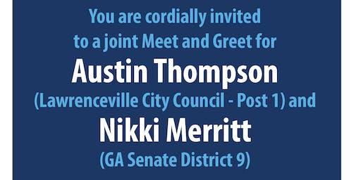 Meet and Greet for Austin Thompson and Nikki Merritt