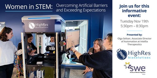 Women in STEM: Overcoming Artificial Barriers & Exceeding Expectations
