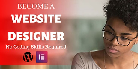 BECOME A PROFESSIONAL WEBSITE DESIGNER IN 5 HOURS tickets