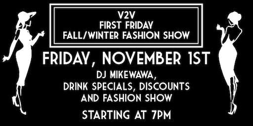 V2V First Friday Fashion Show