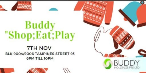 Buddy Shop, Eat & Play