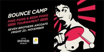 Bounce Camp Table Tennis Tournament at Seven Bro7hers Manchester