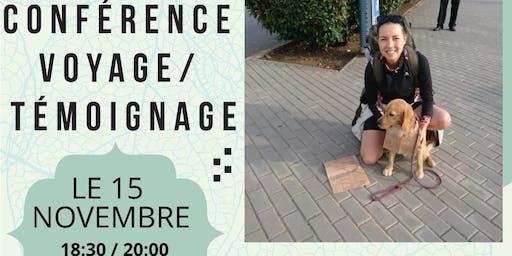 CONFÉRENCE --> Globe trotteuse & Dog trotteur (témoignage et échange)