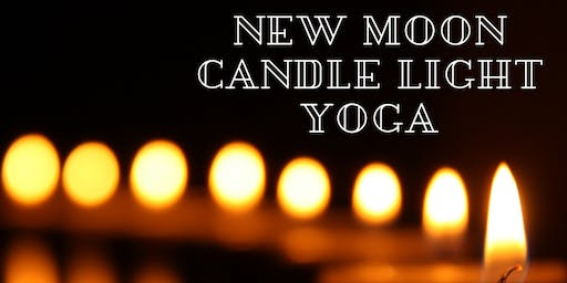 New Moon Candle Light Yoga (english)