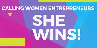 She WINS!!! Women In Business Day!
