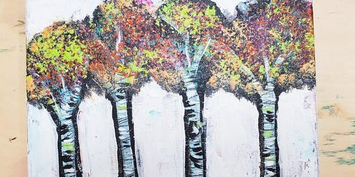 11/14 $22 Sparkling Aspens @ Paint Like ME!