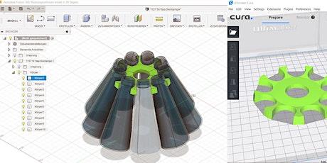 3D-Modelle für 3D-Druck (anhand Autodesk Fusion 360) Tickets