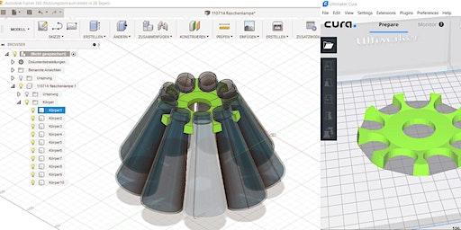 3D-Modelle für 3D-Druck (anhand Autodesk Fusion 360)