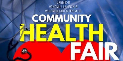 Orem K8 Health Fair