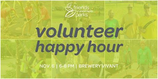 Volunteer Happy Hour!