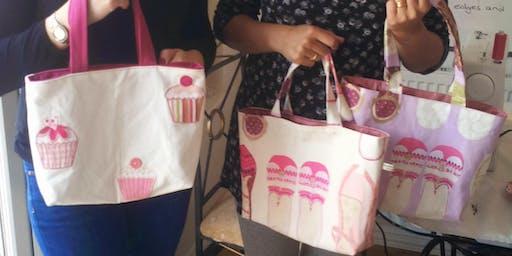 Half Term Sewing Workshop - (Make a Tote Bag)