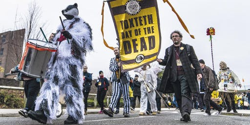 Toxteth Day of the Dead - Beating the Bounds