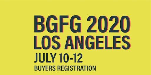 BGFG 2020 Los Angeles Buyers Registration